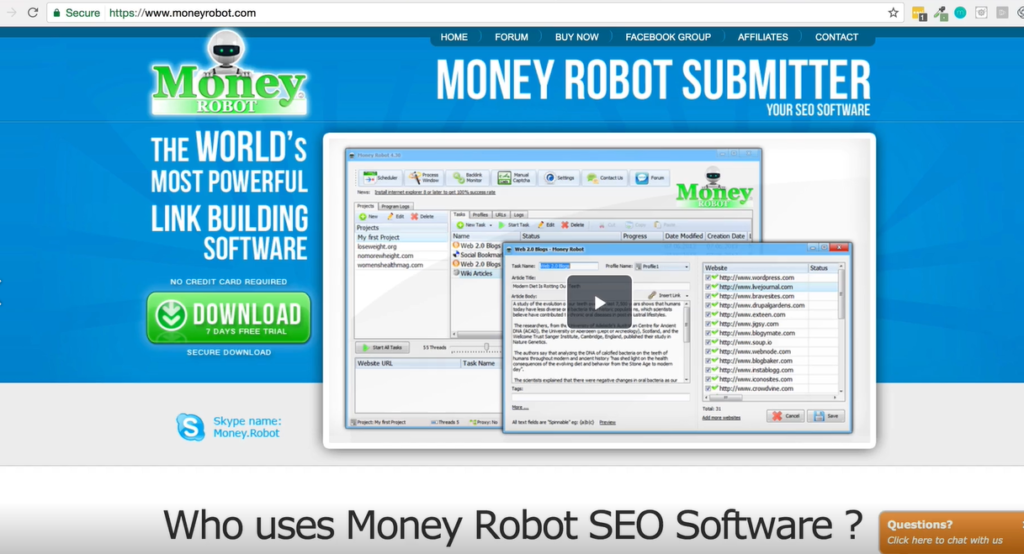 How to set up Money Robot  Automatic Backlink Generator
